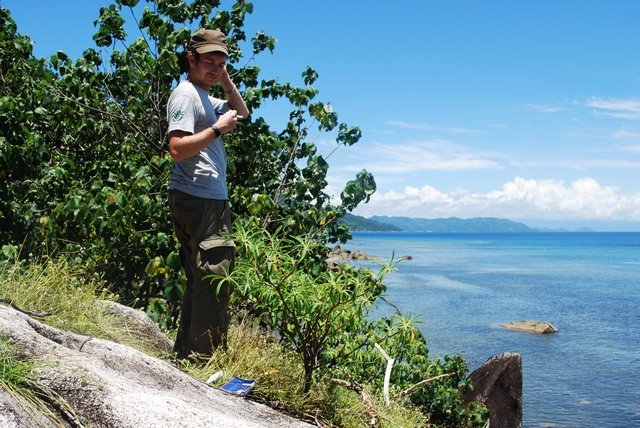 Hard time (...) collecting E. aprica on Nosy Be island, north-western Madagascar, 2011